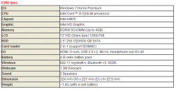 Спецификации MSI X-Slim X360