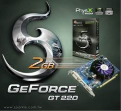 Sparkle GeForce GT 220 2 Гб