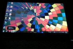 Дисплей ноутбука Asus UL50Vf - вид снизу