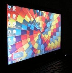 Дисплей ноутбука Asus UL50Vf - вид сбоку