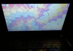 Дисплей ноутбука Asus UL50Vf - вид сверху