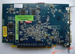 Sapphire HD 3650 - вид сзади