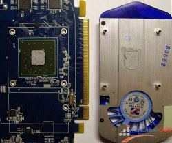 Sapphire HD 3650 без кулера