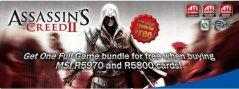 Видеокарты MSI поставляются с игрой Assassin's Greed 2