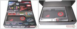 Коробка с видеокартой Asus HD 5870