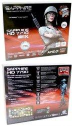 Упаковка видеокарты Sapphire Radeon HD 7790 Dual-X OC