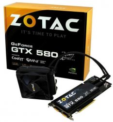 Видеокарта Zotac GeForce GTX 580 Infinity Edition