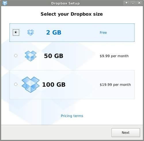 Бесплатный аккаунт в Dropbox