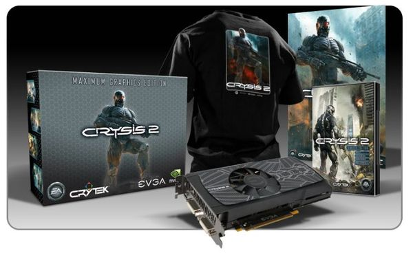 Видеокарта EVGA GeForce GTX 560 Ti и игра Crysis 2