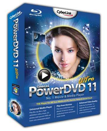 Универсальный проигрыватель CyberLink PowerDVD 11