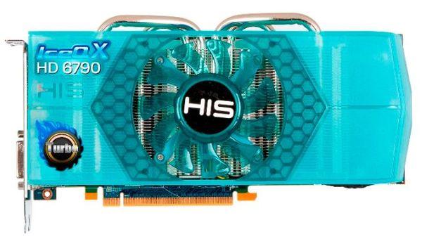 Видеокарта HIS Radeon HD 6790 IceQX Turbo