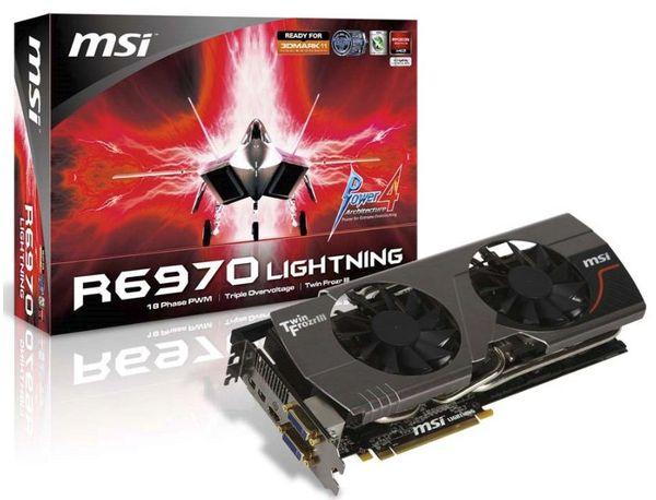 Видеокарта MSI R6970 Lightning