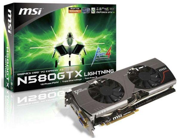 Видеокарта MSI N580GTX