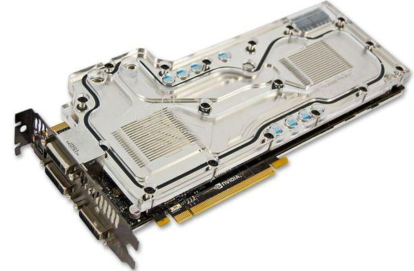 Водоблок EK для видеокарты NVIDIA GeForce GTX 590