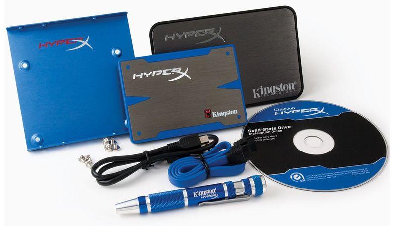 Твердотельные диски Kingston HyperX