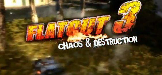Игра FlatOut 3: Chaos & Destruction выйдет через несколько дней