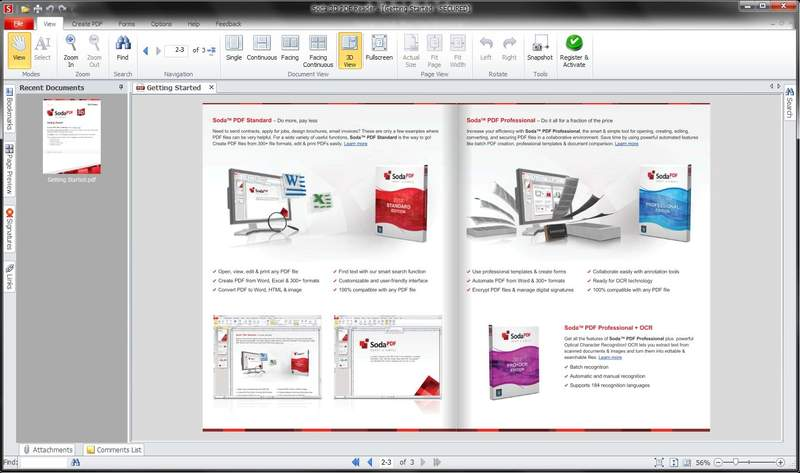 Вышла новая версия Soda PDF