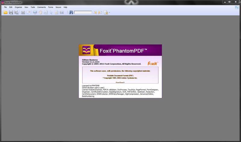 Новая версия Foxit PhantomPDF