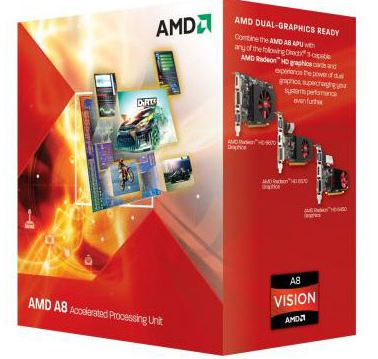 Новые модели APU A-Series от AMD