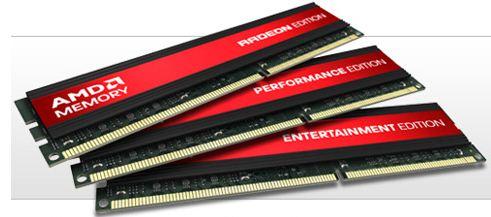 Память для настольных компьютеров под брендом AMD