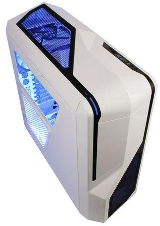 Компьютерный корпус NZXT Phantom 410 белого цвета