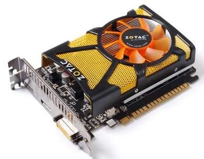 Видеокарты Zotac на основе чипа NVIDIA GeForce GT 440
