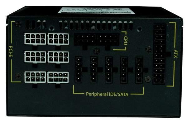 Блоки питания ZX имеют модульную систему подключения кабелей