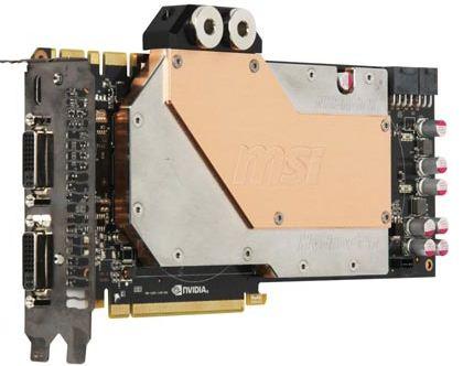 Видеокарта MSI N580GTX HydroGen