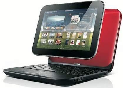 Ноутбук IdeaPad U1 hybrid и планшета LePad Slate