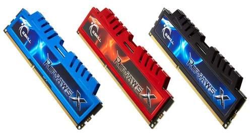 Новая линейка модулей памяти G.Skill RipjawsX