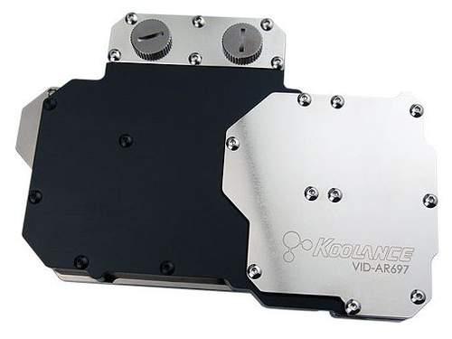 Koolance выпустили водоблок VID-AR697 совместимый с видеокартами HD 6970 и HD 6950