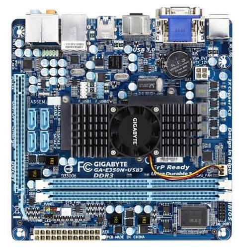 Материнская плата Gigabyte GA-E350N-USB3