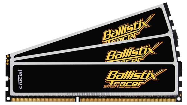 Модули памяти Crucial Ballistix Smart Tracer