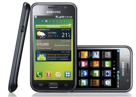Новый смартфон Samsung Galaxy S 4G
