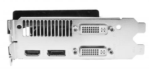 Порты Gainward GeForce GTX 580 Phantom