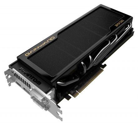 Видеокарта Gainward GeForce GTX 580 Phantom