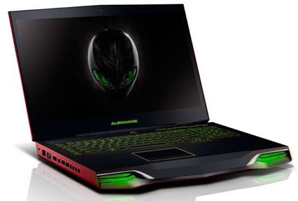 Новые ноутбуки Alienware M17x и M18x