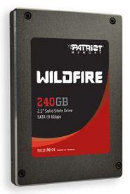 SSD диски Patriot Wildfire