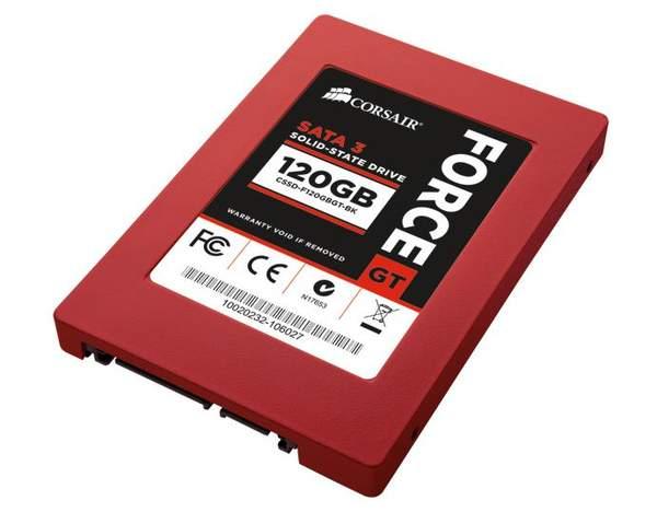 Corsair выпустили новые SSD Force GT