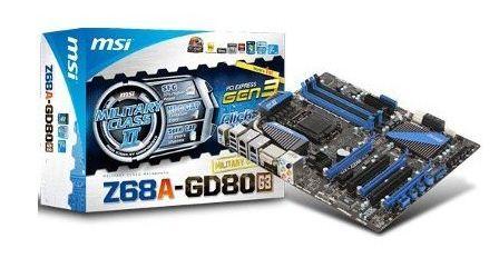 Материнская плата MSI Z68A-GD80 (G3)