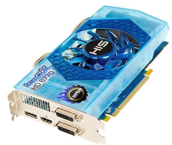 HIS выпустили HD 6770 IceQ X и IceQ X Turbo