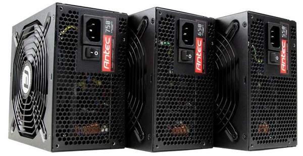 Antec оснастили серию High Current Gamer Plus модульной системой подключения кабелей