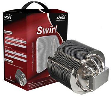Spire выпустили новый производительный кулер Swirl