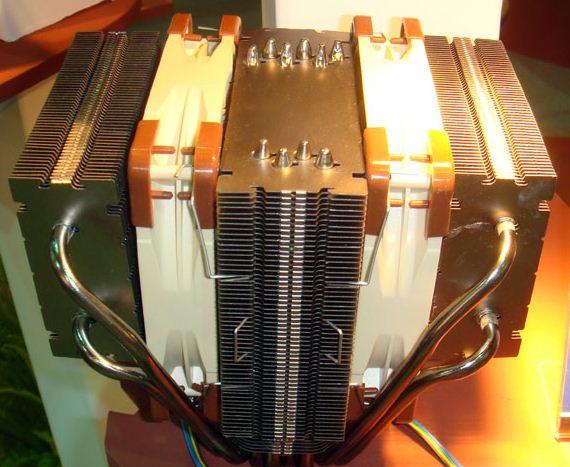 У данной модели радиатор разделен на три секции