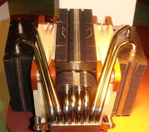 Кулер CPU от Noctua с радиатором из трех секций