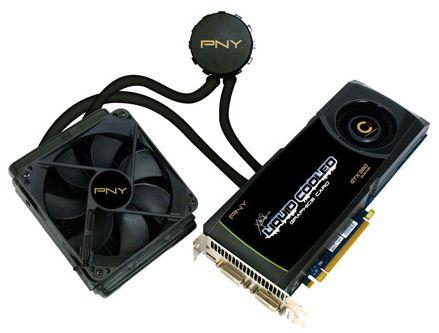 Охлаждение видеокарты PNY GTX 580 разработано совместно с Asetek