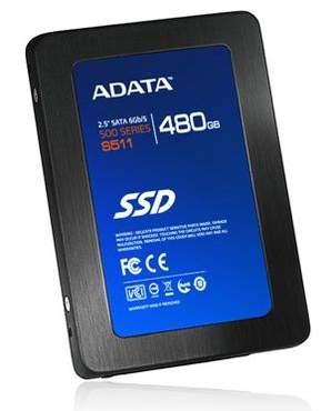 Новая серия дисков SSD от A-Data под названием S511