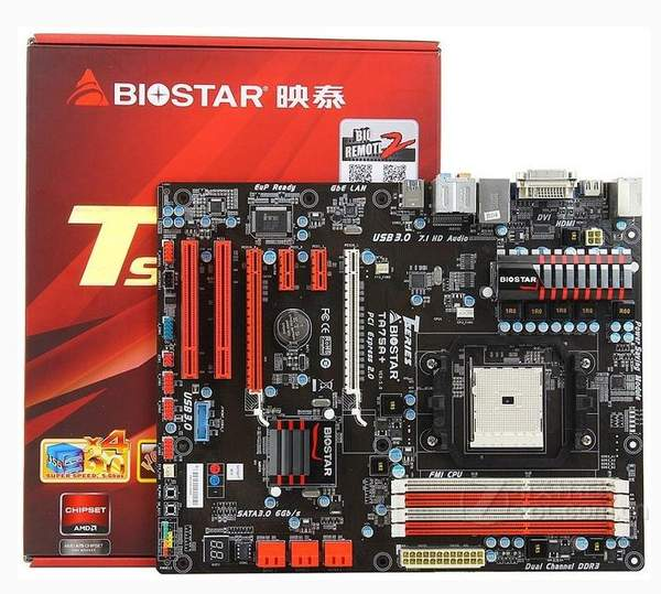 Материнская плата Biostar TA75A+