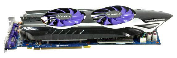 Видеокарта Sparkle GeForce GTX 580 Thermal Guru
