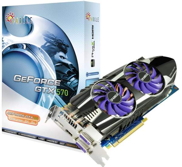 Видеокарта Sparkle GeForce GTX 570 Thermal Guru